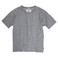 GO HEMP(ゴーヘンプ) MUSA TEE (ブラックヘザー)(ムサTEE)(Tシャツ)