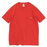 Jackman(ジャックマン) JM5550 Pocket T-shirt (バーミリオン)(ポケTEE)