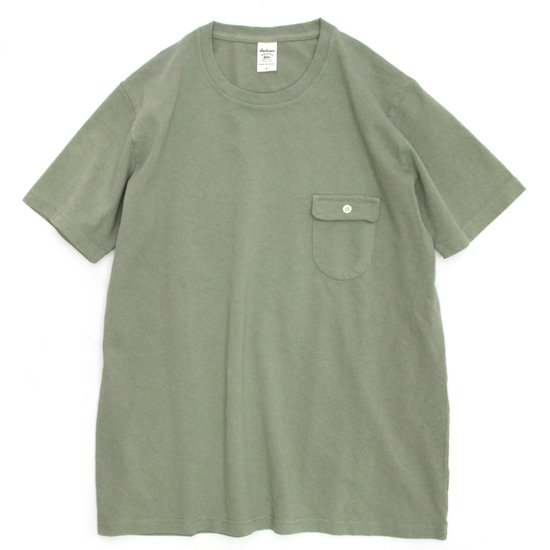 Jackman(ジャックマン) JM5550 Pocket T-shirt (カーキ)(ポケTEE)