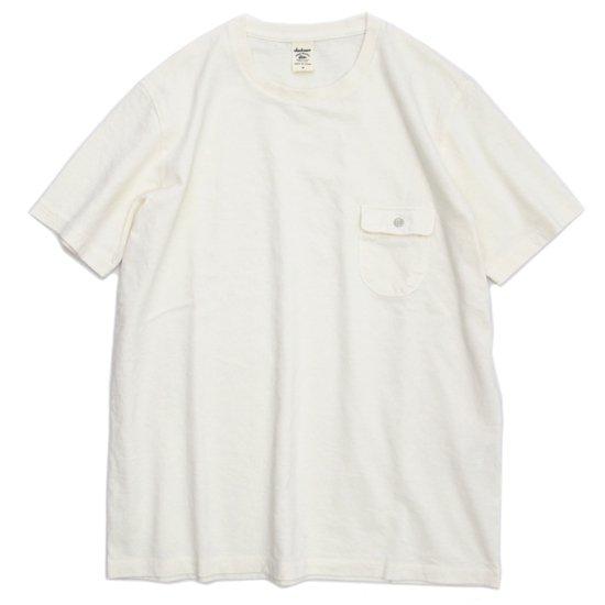 Jackman(ジャックマン) JM5550 Pocket T-shirt (アイボリー)(ポケTEE)