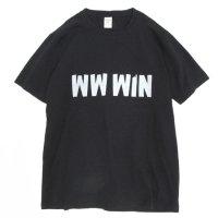 Jackman(ジャックマン) JM5714 T-shirt (ブラック)(プリントTEE)(We Want WIN)