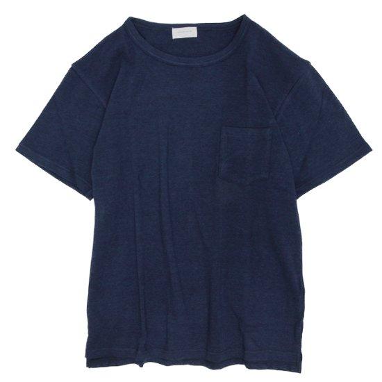 SPINNER BAIT(スピナーベイト) ミニパイル S/S ポケットTEE (ネイビー)(Tシャツ)(ミニパイル)