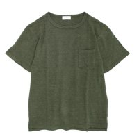 SPINNER BAIT(スピナーベイト) ミニパイル S/S ポケットTEE (カーキ)(Tシャツ)(ミニパイル)