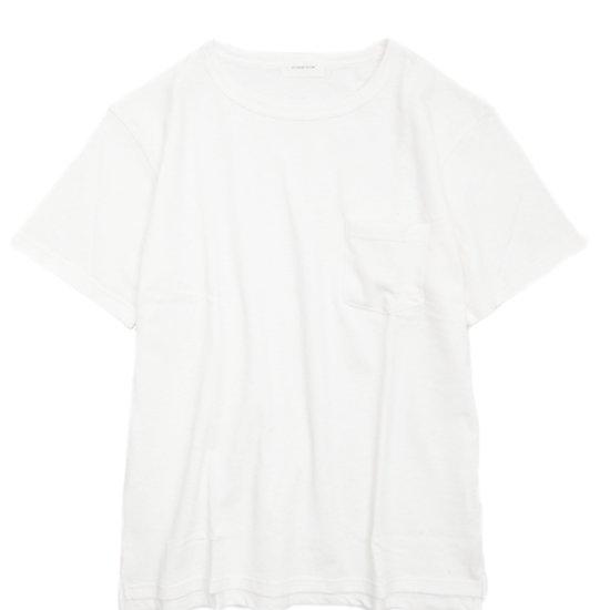 SPINNER BAIT(スピナーベイト) ミニパイル S/S ポケットTEE (オフホワイト)(Tシャツ)(ミニパイル)