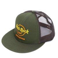 GO HEMP(ゴーヘンプ) Herb Rock CAFE MESH CAP (オリーブ)(メッシュキャップ)