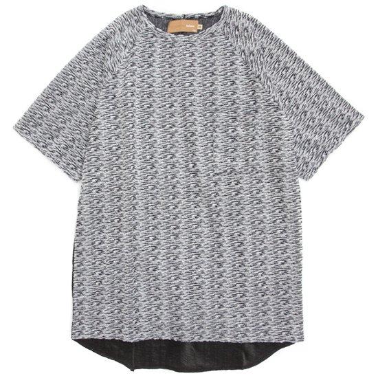 VOO(ヴォー) G.C. CRATER TEE (グレイ)(グッドコンボクレーターTEE)(パイル生地)(Tシャツ)