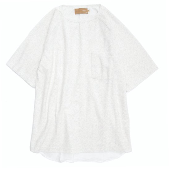 VOO(ヴォー) G.C. CRATER TEE (ホワイト)(グッドコンボクレーターTEE)(パイル生地)(Tシャツ)