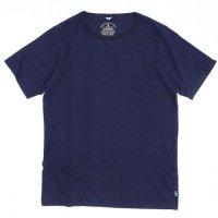 GO HEMP(ゴーヘンプ) BASIC S/SL TEE INDIGO (インディゴ)(ベーシック ショートスリーブ TEE)(Tシャツ)