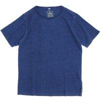 GO HEMP(ゴーヘンプ) BASIC S/SL TEE INDIGO (ライトインディゴ)(ベーシック ショートスリーブ TEE)(Tシャツ)