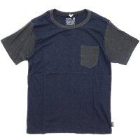 GO HEMP(ゴーヘンプ) COMBI MULTI BASIC S/SL TEE (マリンネイビー)(ベーシック ショートスリーブ TEE)(Tシャツ)