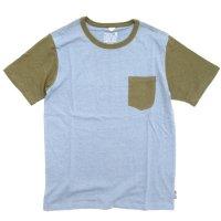 GO HEMP(ゴーヘンプ) COMBI MULTI BASIC S/SL TEE (スカイブルー)(ベーシック ショートスリーブ TEE)(Tシャツ)