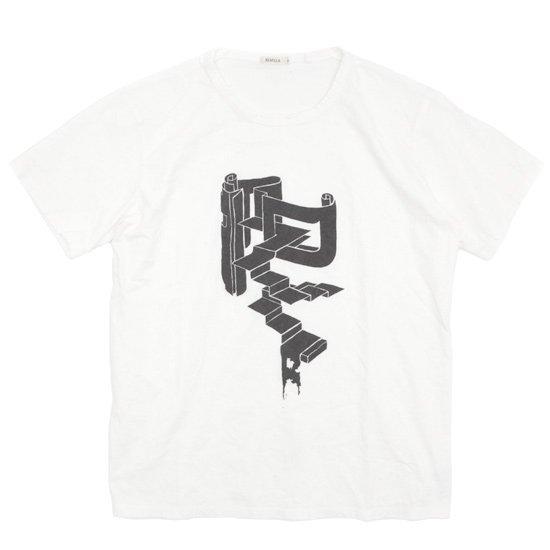 remilla(レミーラ) R-tee (ホワイト)(プリントTEE)(Tシャツ)