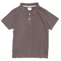 ACCHA(アチャ) KORTRIJK LINEN POLO (ブラウン)(ポロシャツ)