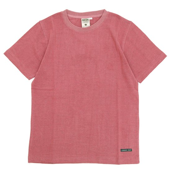 A HOPE HEMP(アホープヘンプ) Regular S/S Tee (シマロン)(Tシャツ)(無地TEE)