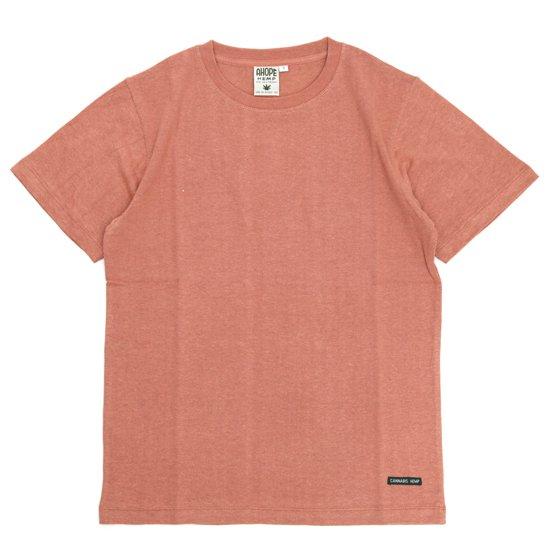 A HOPE HEMP(アホープヘンプ) Regular S/S Tee (ブルーム)(Tシャツ)(無地TEE)