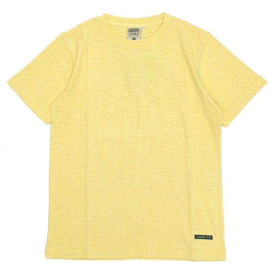 A HOPE HEMP(アホープヘンプ) Regular S/S Tee (ハーベスト)(Tシャツ)(無地TEE)