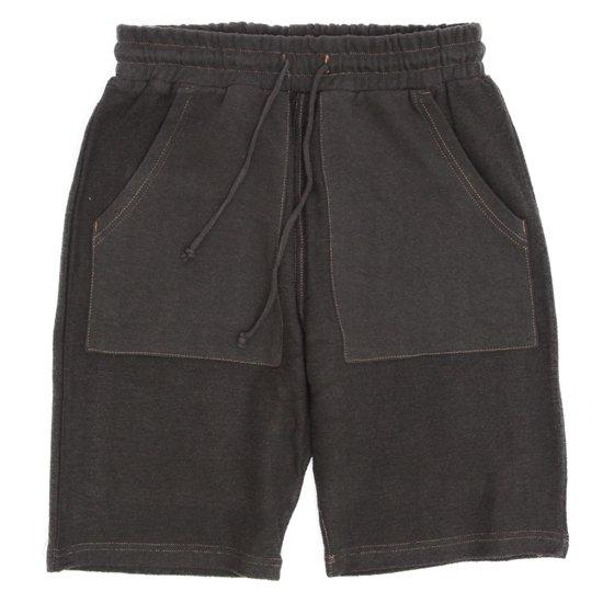A HOPE HEMP(アホープヘンプ) Turnover Shorts (オールドブラッキー)(ショートパンツ)(ヘンプコットン)