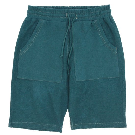 A HOPE HEMP(アホープヘンプ) Turnover Shorts (プラントブルー)(ショートパンツ)(ヘンプコットン)