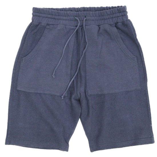 A HOPE HEMP(アホープヘンプ) Turnover Shorts (ミッドナイト)(ショートパンツ)(ヘンプコットン)