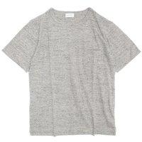 SPINNER BAIT(スピナーベイト) ガラガラ天竺 S/S ポケットTEE (トップグレー)(Tシャツ)(ガラガラ紡)