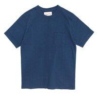 August Roots(オーガストルーツ) Classic Pocket Tee (ネイビー)(ポケTEE)(ジンバブエコットン)