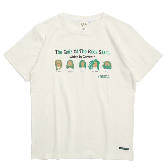 A HOPE HEMP(アホープヘンプ) You Know Them S/S Tee (ナチュラル)(Tシャツ)(プリントTEE)