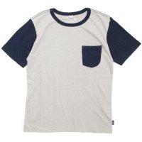 GO HEMP(ゴーヘンプ) COMBI MULTI BASIC S/SL TEE (ソフトグレイ)(ベーシック ショートスリーブ TEE)(Tシャツ)