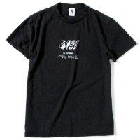 TACOMA FUJI RECORDS(タコマフジレコード) WOO PRODUCTION S/S TEE (ブラック)(プリントTシャツ)