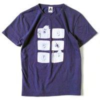 TACOMA FUJI RECORDS(タコマフジレコード) LOST EGGS S/S TEE (パープル)(プリントTシャツ)