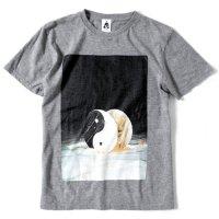 TACOMA FUJI RECORDS(タコマフジレコード) ROLLING YOUR EYES S/S TEE (ヘザーグレイ)(プリントTシャツ)