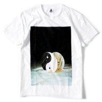 TACOMA FUJI RECORDS(タコマフジレコード) ROLLING YOUR EYES S/S TEE (ホワイト)(プリントTシャツ)