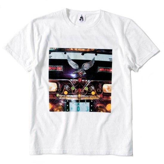 TACOMA FUJI RECORDS(タコマフジレコード) DECOTORA S/S TEE (ホワイト)(プリントTシャツ)
