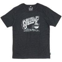 GO HEMP(ゴーヘンプ) HERVEST MOON S/SL TEE by NiNO (ガンメタルグレイ)(ベーシック ショートスリーブ TEE)(Tシャツ)