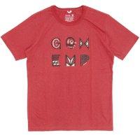GO HEMP(ゴーヘンプ) pacific ring S/SL TEE by Gravityfree (ポピーレッド)(ベーシック ショートスリーブ TEE)(Tシャツ)