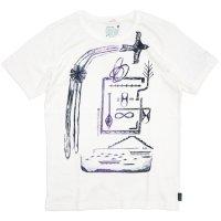 GO HEMP(ゴーヘンプ) ある村の話 S/SL TEE by BeBe (ナチュラル)(ベーシック ショートスリーブ TEE)(Tシャツ)