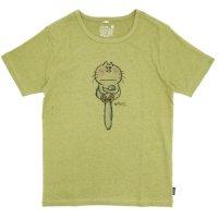 GO HEMP(ゴーヘンプ) I AM CAT S/SL TEE by 水森亜土 (ピスタチオ)(ベーシック ショートスリーブ TEE)(Tシャツ)