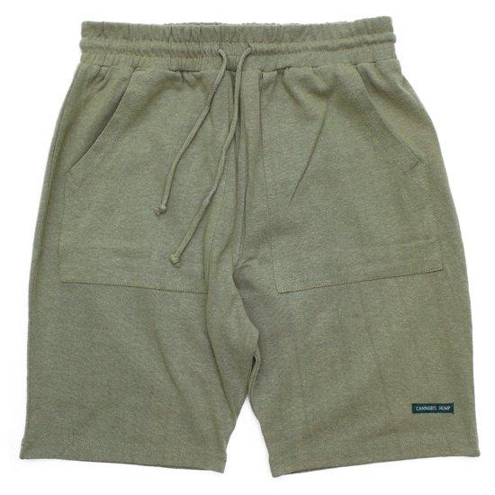 A HOPE HEMP(アホープヘンプ) The Half Shorts (ラットセージ)(ショートパンツ)(ヘンプコットン)