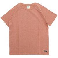 A HOPE HEMP(アホープヘンプ) ラグラン S/S Tee (ブルーム)(Tシャツ)(無地TEE)(ラグランT)