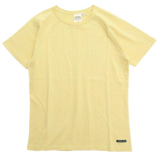 A HOPE HEMP(アホープヘンプ) ラグラン S/S Tee (ハーベスト)(Tシャツ)(無地TEE)(ラグランT)