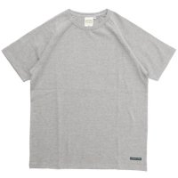 A HOPE HEMP(アホープヘンプ) ラグラン S/S Tee (アッシュドグレイ)(Tシャツ)(無地TEE)(ラグランT)