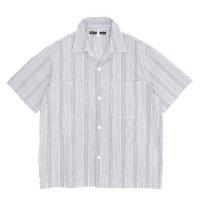 NECESSARY or UNNECESSARY GARAGE SHIRT CHECK (グレイ)(ネセサリー オア アンネセサリー)(半袖シャツ)
