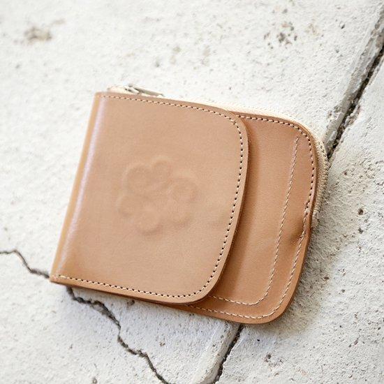 remilla(レミーラ) フラップウォレット (ヌメ革)(二つ折り財布)(ショートウォレット)