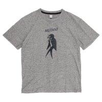 HiHiHi(ひひひ) MUTANT S/SL Tee (チャコール)(Tシャツ)(プリントT)