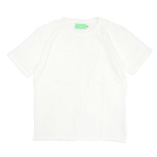 VOO(ヴォー) G.C SLANT (ホワイト)(グッドコンボ スラント)(パイル)(ジャカード)(Tシャツ)