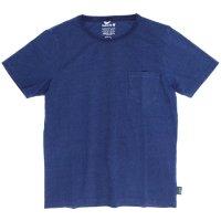 GO HEMP(ゴーヘンプ) BASIC S/SL PK TEE INDIGO (ライトインディゴ)(ベーシック ショートスリーブ ポケット TEE)(Tシャツ)