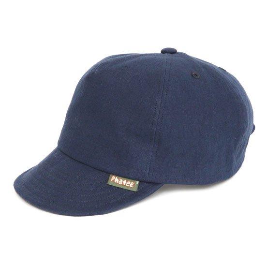 Phatee(ファティ) HEMP CAP (ネイビー)(ヘンプキャップ)