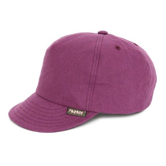 Phatee(ファティ) HEMP CAP (パープル)(ヘンプキャップ)