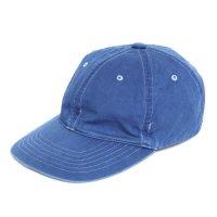 GO WEST(ゴーウェスト) INDIGO 6PANEL CAP (ライトインディゴ)(キャップ)