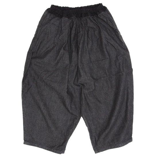 ORDINARY FITS(オーディナリーフィッツ) レディース BALL PANTS (ブラックデニム)(ボールパンツ)