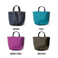 GREEN CLOTHING(グリーンクロージング) TOTE BAG TEAL(ブラウン)(トートバッグ)(防水)